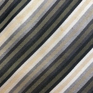 Valerio Garati Brown Striped Silk Necktie A050703
